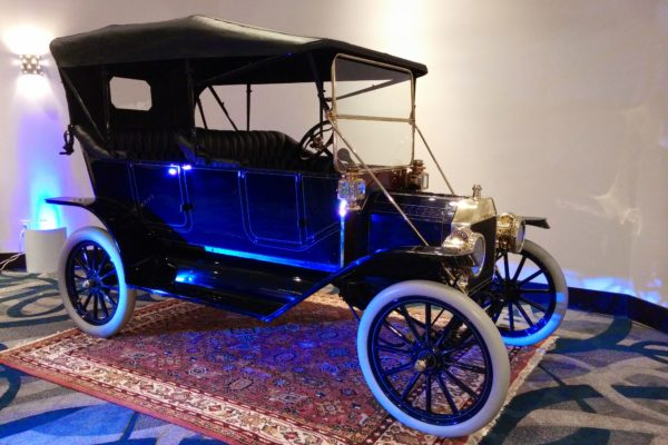 A classic automobile